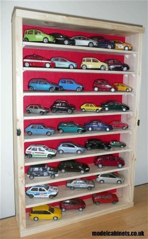 model car display cabinet dude