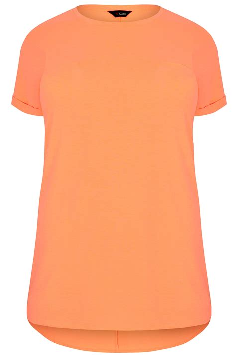 Oranje T Shirt Met Langere Achterkant Maten 44 64 Clothing Terms And Conditions Template