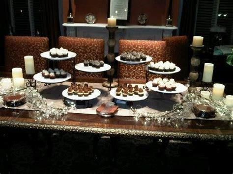 life s sweeter with chocolate dining room buffet table dessert table at 109 west picture of 109 west savannah