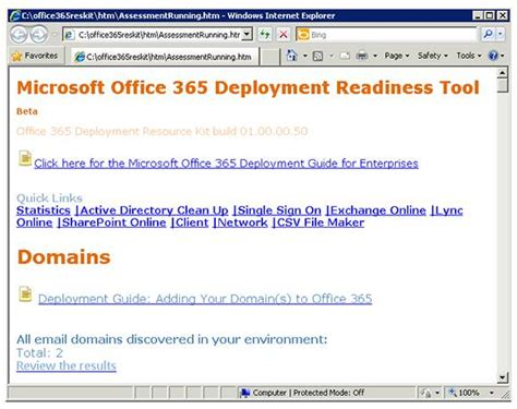 Office 365 Deployment Tool Prepping Active Directory For A Hybrid Office 365 Deployment