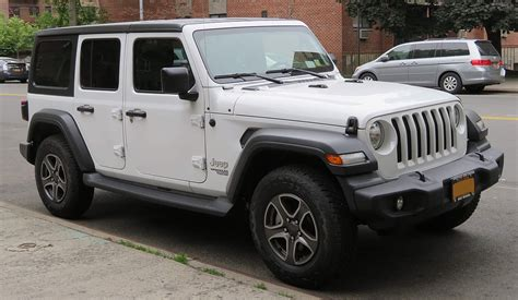4 Door Jeep Wrangler by Jeep Wrangler Jl