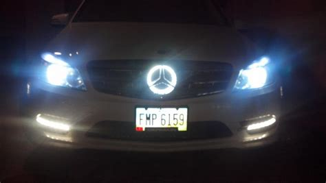 bmw glowing emblem custom illuminated grill emblem mbworld org forums