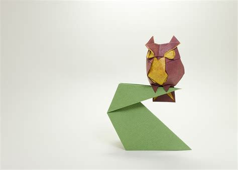 Make Origami Owl - this week in origami 21st origami tanteidan convention