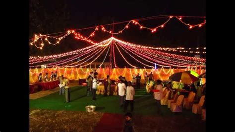 Beautiful & Decorated Wedding Reception Pandal in Kolkata
