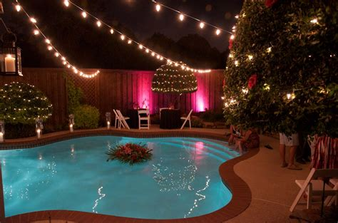 backyard bulb lights dfw wedding and event lighting com backyard wedding lighting