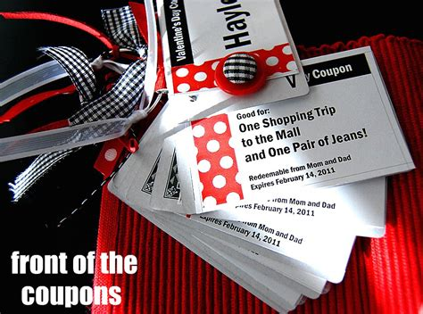 deck of cards valentines template project card coupon booklets w template