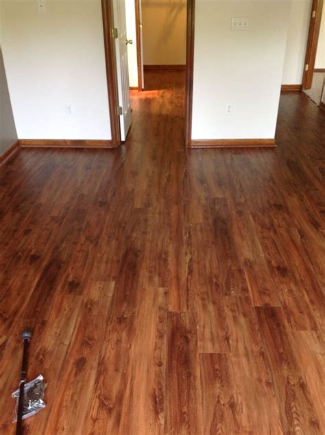 vinyl planks with a wood plank look this could be our new