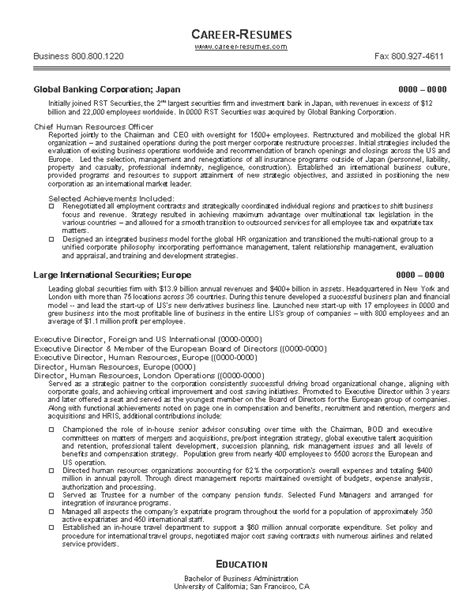 Sample Resume For Human Resources – Functional Resume Sample: Generalist Position in Human