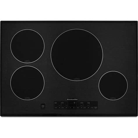 kitchenaid induction top kitchenaid architect series ii kicu508sbl 30 quot induction cooktop black