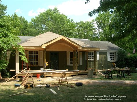 Front Porch Contractors front porch construction details stunning befores and afters
