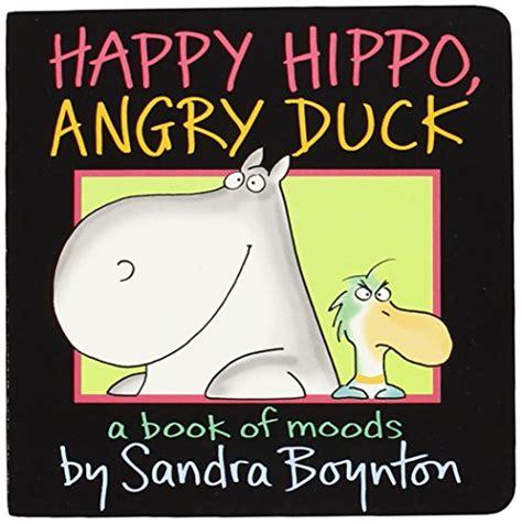 libro happy hippo angry duck di sandra boynton