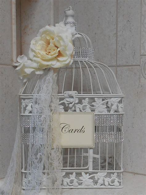 25 best ideas about birdcage card holders on pinterest