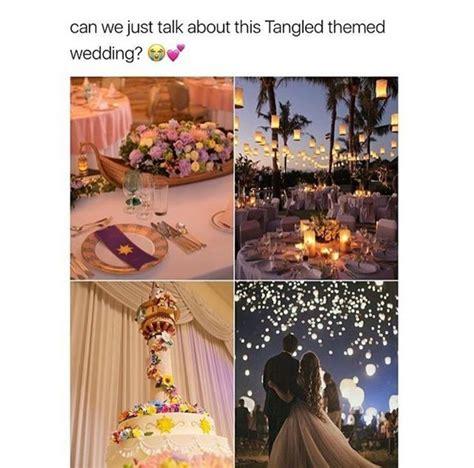 Tangled Themed Wedding Invitations