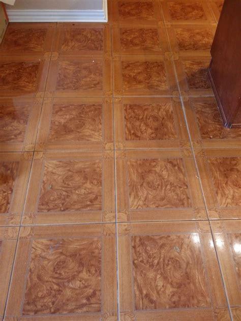perfect paint color  orange tone tile floor