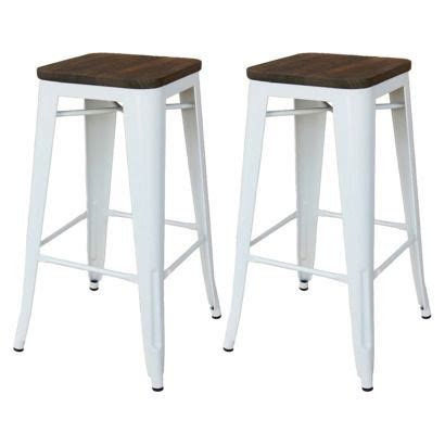 target bar stools industrial metals and target on