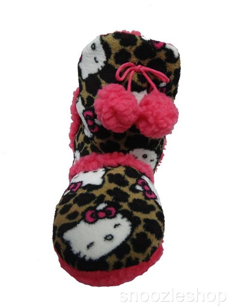 hello boot slippers womens slippers sanrio hello ugg boot shoe