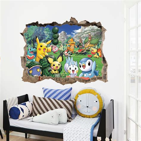 Lego Wall Stickers online buy wholesale pokemon wall sticker from china