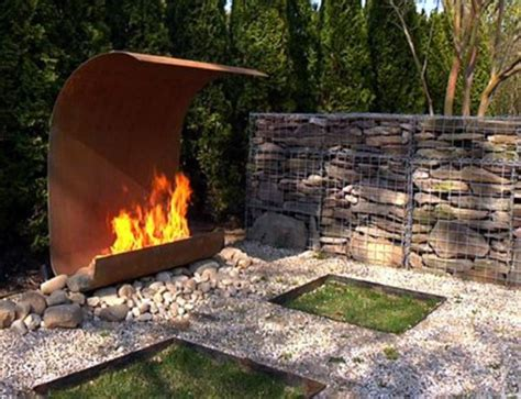 Outdoor Fireplace Metal outdoor metal fireplace outdoor fireplaces