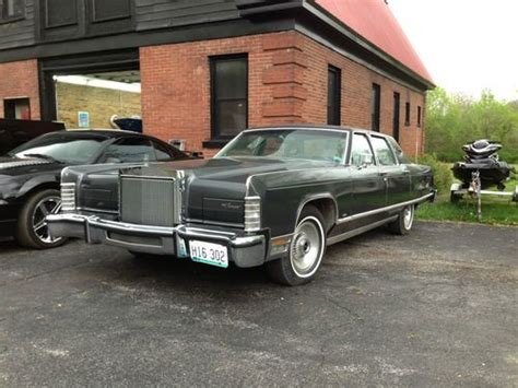 lincoln continental 77 buy used 77 lincoln continental town car unrestored one