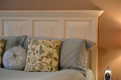 how to make headboard from door door headboard roadkill rescue infarrantly creative