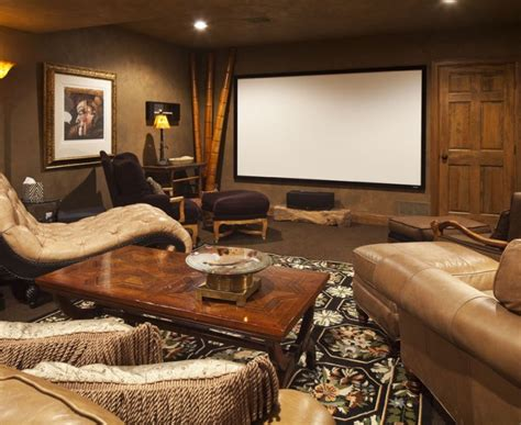 Interior Designs For Living Rooms Pretty Media Room Ideas Eclectic Home Theater Madebymood Com