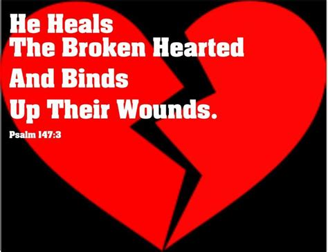he heals the broken hearted parole sante