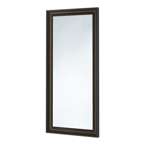 ikea mirror hemnes mirror black brown 74x165 cm ikea