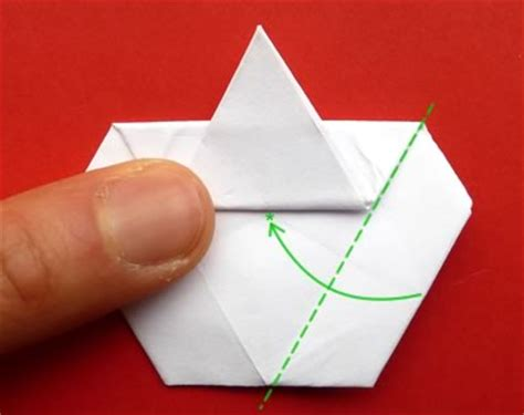 fold a money origami from a dollar bill step by