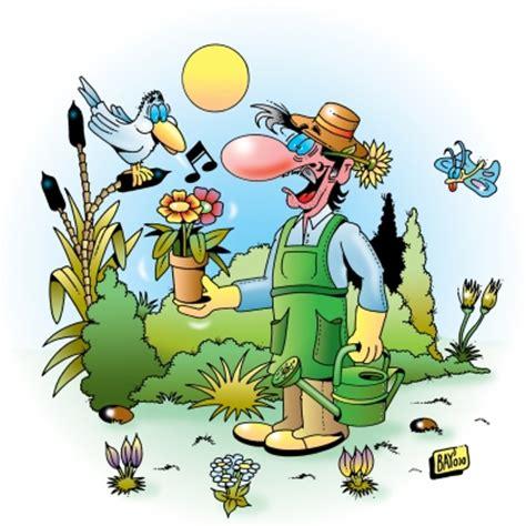 Garten Comic by Iberissimo Blumen Blumengarten