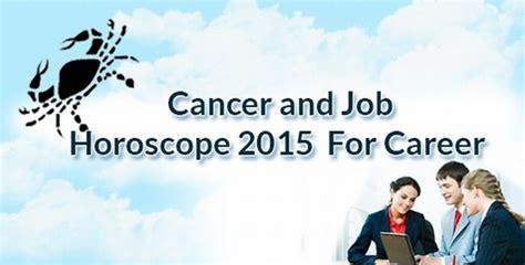 cancer horoscope today career