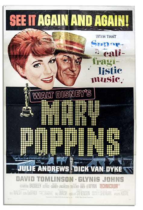 disney film won most oscars lot detail disney movie poster for mary poppins with