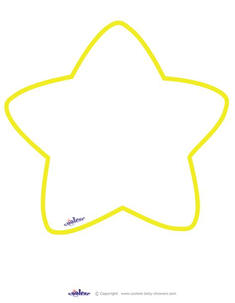 shape pattern free large printable yellow star coolest free printables art
