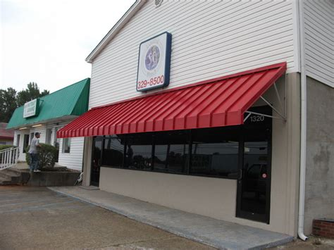 steel awnings metal awnings