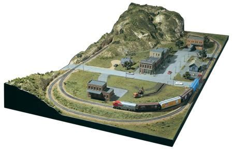 mountain valley scenery kit ho scale model railroad