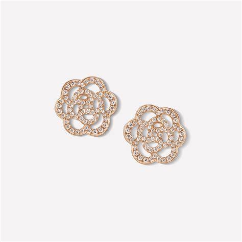 233 lia earrings 233 lia ajour 233 earrings in 18k pink