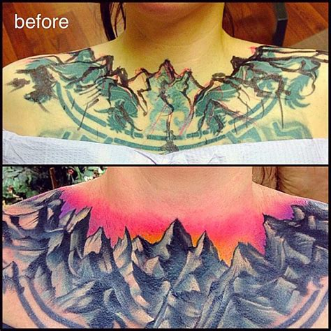 tim beck tattoo collar mountans cover up best ideas gallery