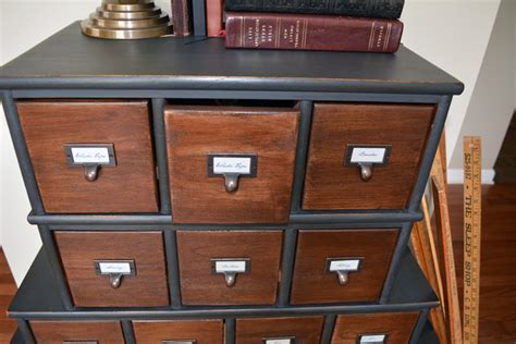 Painting Stained Wood Trim Vintage Inspired Apothecary Cabinet Before Amp After Let S