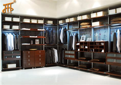 Wall Mounted Closet Rod by Aluminum Wall Mounted Closet Pole Sytem Wardrobe For Walk In Cloakroom Dressing In Wardrobes
