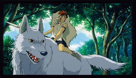 anime film wolves princess mononoke 20th anniversary fathom events
