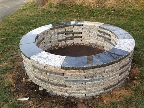 Firepit Stones Recycled Granite Pit Kit