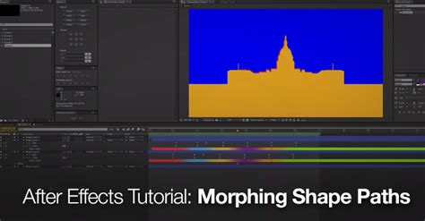 tutorial after effects path after effects video tutorial morphing shape paths