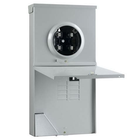 Midwest Pedestal midwest r281c1p6h metered ringless service entrance equipment 200 120 240 volt 1 phase