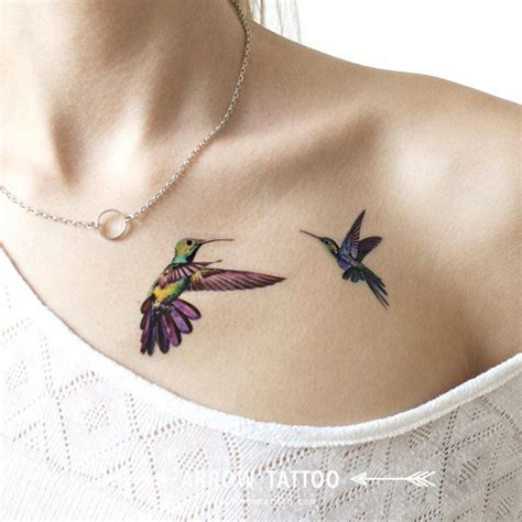 popular items for hummingbird tattoo on etsy watercolor
