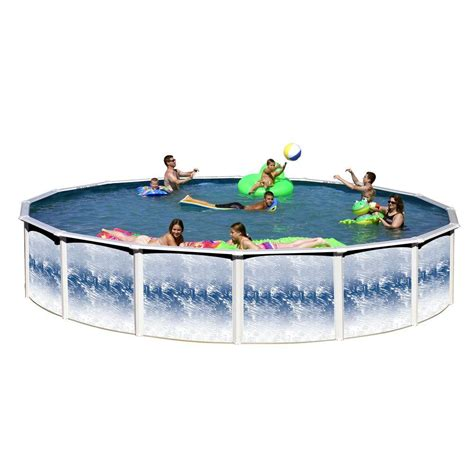 heritage pools yosemite 24 ft x 52 in pool package