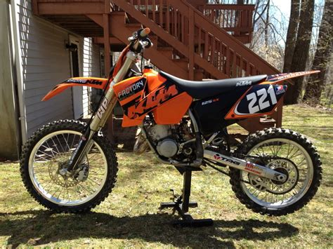 2003 Ktm 125sx For Sale 2004 Ktm 125 Sx Pics Specs And Information