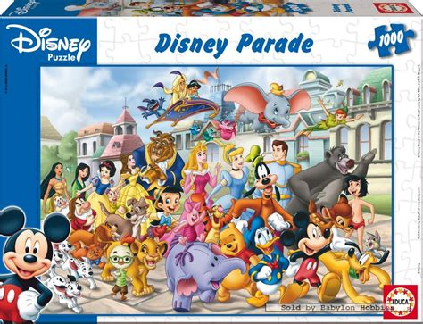 Best Terlaris Puzzle Jigsaw Disney Princess Panorama 1000 Pcs Sni 1000 pcs jigsaw puzzle disney family disney parade