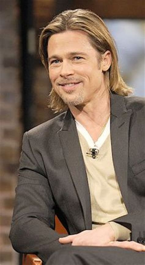 screen shot brad pitt long on top haircut in fury 1000 images about hairstyles for men on pinterest ben