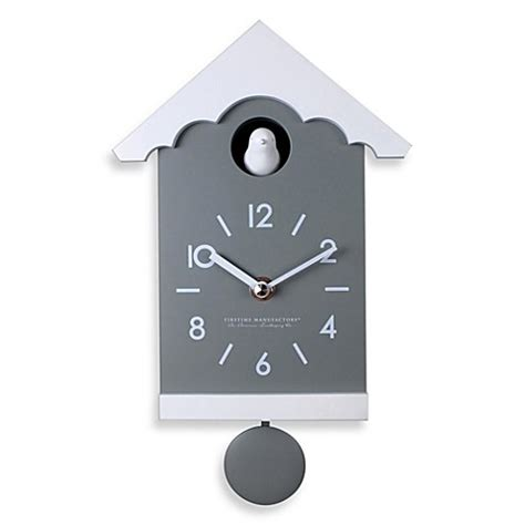 Cuckoo Clock Bed by Firstime 174 Mod Cuckoo Wall Clock Bed Bath Beyond