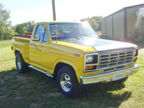1981 ford f100 stepside pickup truck 460 motor c6 automatic 9 quot 4 11 positrac classic ford f