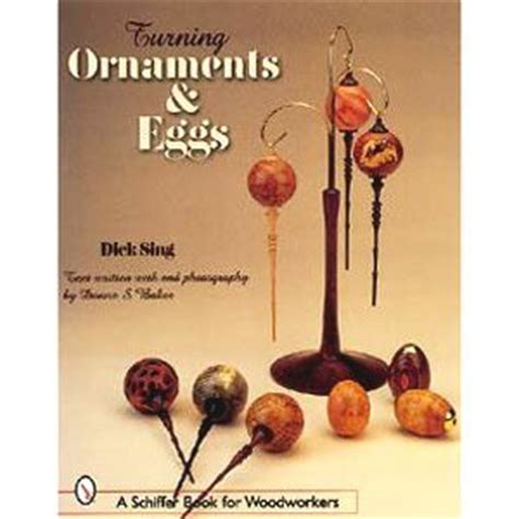 woodcraft and cing books turning ornaments and eggs woodturning books